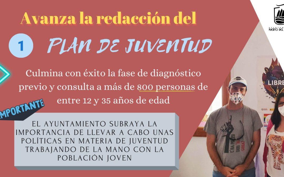 Avanza la redacción del primer Plan de Juventud de Puerto del Rosario tras culminar la fase de consulta y diagnóstico previo