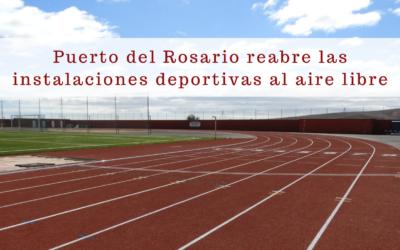 Puerto del Rosario reabre las instalaciones deportivas al aire libre