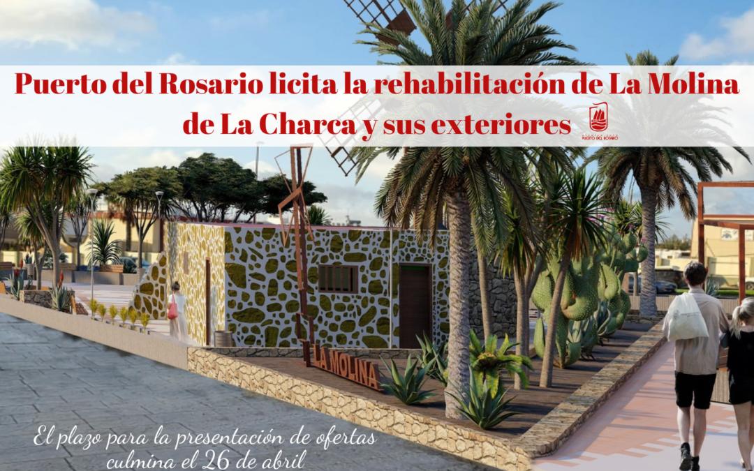 Puerto del Rosario anuncia la licitación para la rehabilitación de La Molina de La Charca y sus exteriores