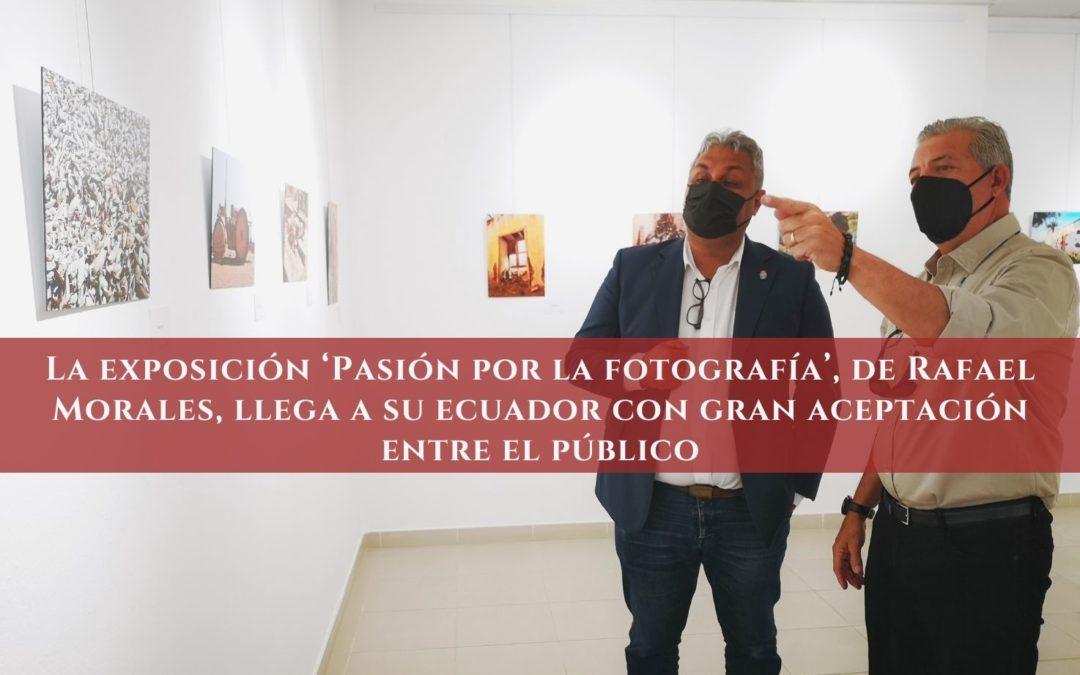 La exposición 'Pasión por la fotografía', de Rafael Morales, llega a su ecuador con gran aceptación entre el público