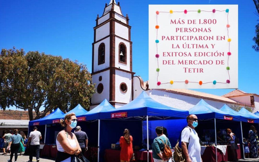 Más de 1.800 personas participaron en la última y exitosa edición del Mercado de Tetir