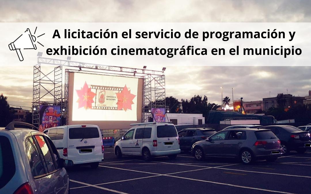 Puerto del Rosario saca a licitación el servicio de programación y exhibición cinematográfica en el municipio