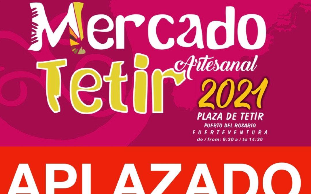El Ayuntamiento decide aplazar la celebración de la próxima edición del Mercado Artesanal de Tetir