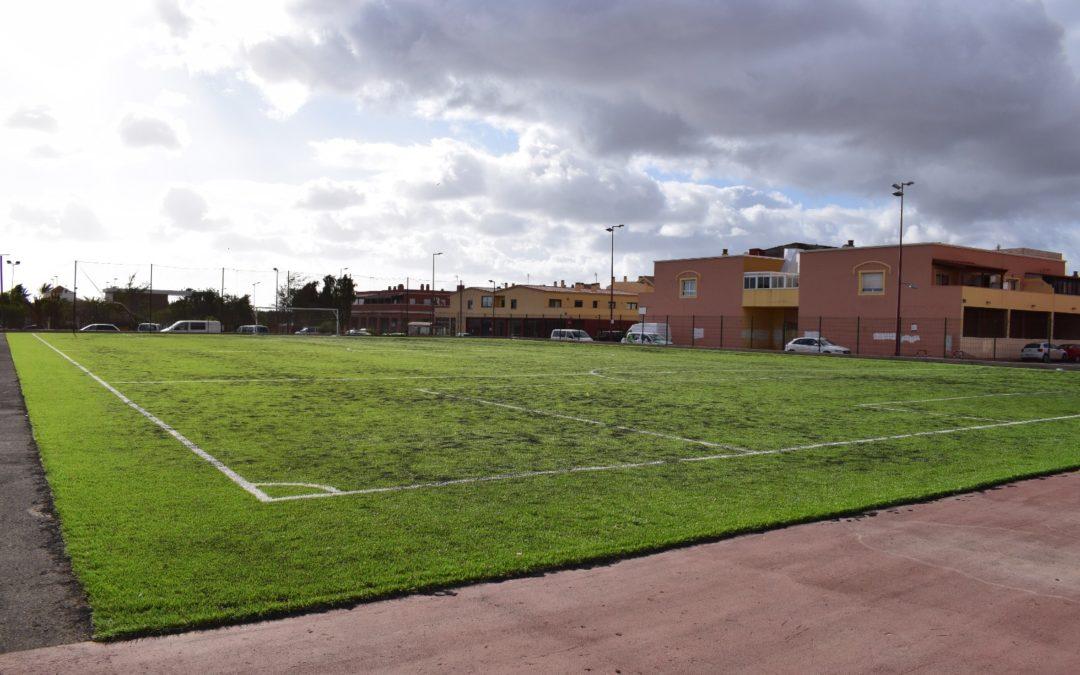 A licitación el proyecto de instalaciones eléctricas de baja tensión para el Campo de Fútbol 7 en El Matorral