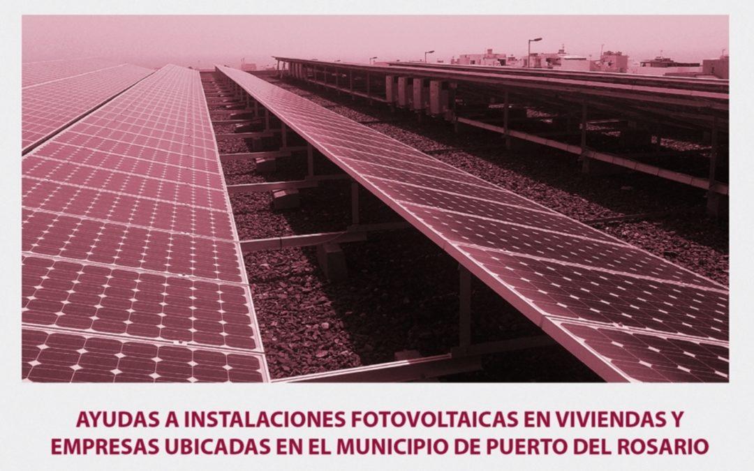 La capital recuerda que continúa abierto el plazo para solicitar ayudas para la instalación de fotovoltaicas en viviendas y empresas