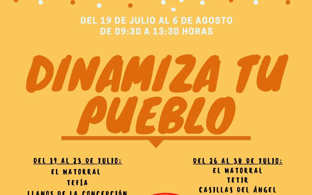 Puerto del Rosario estrena este verano el proyecto 'Dinamiza tu pueblo' con actividades lúdicas para los niños y niñas