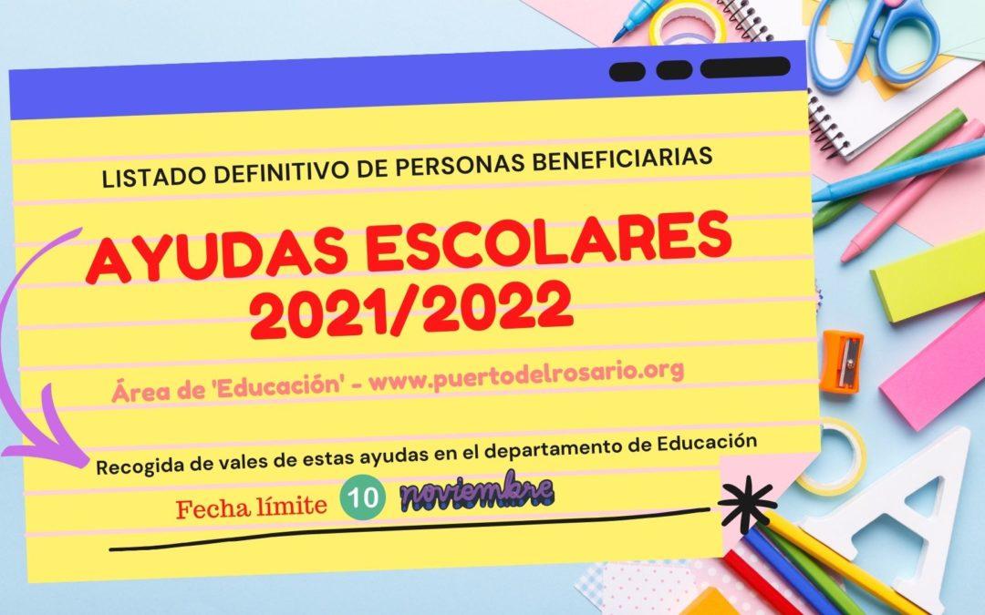 Las personas beneficiarias de las ayudas escolares pueden recoger los vales hasta el 10 de noviembre
