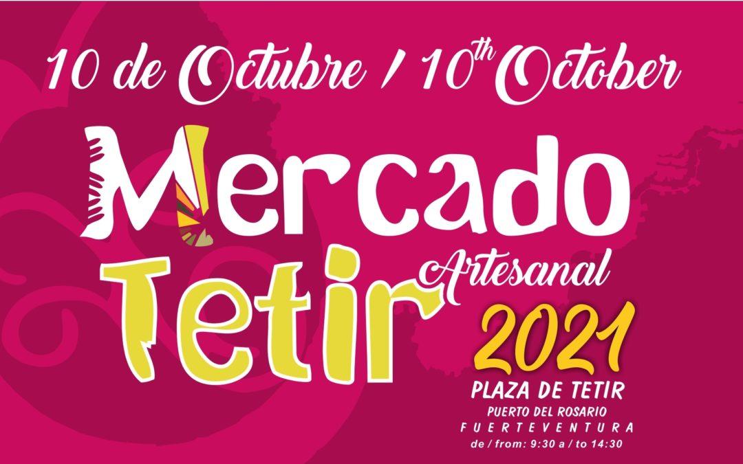 El Mercado tradicional de Tetir celebra este domingo una nueva jornada con la cultura, tradición, gastronomía y artesanía