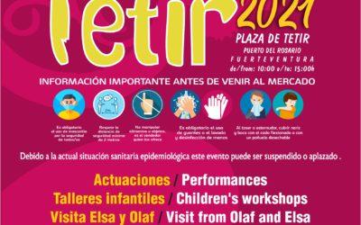 Puerto del Rosario celebrará su habitual Mercado de Tetir el próximo 18 de abril