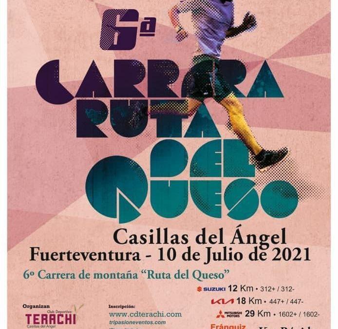 Casillas del Ángel acogerá este sábado el regreso de la popular carrera de montaña 'Ruta del Queso' en su sexta edición