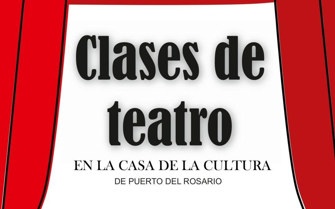 La capital ofrece por primera vez clases de teatro para adultos y seniors
