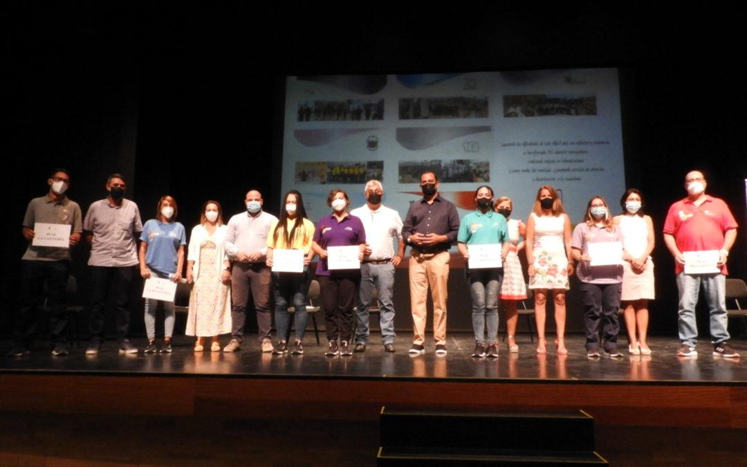 La clausura de los siete PFAE impulsados por el Ayuntamiento de Puerto del Rosario preparan a 105 personas para el mundo laboral