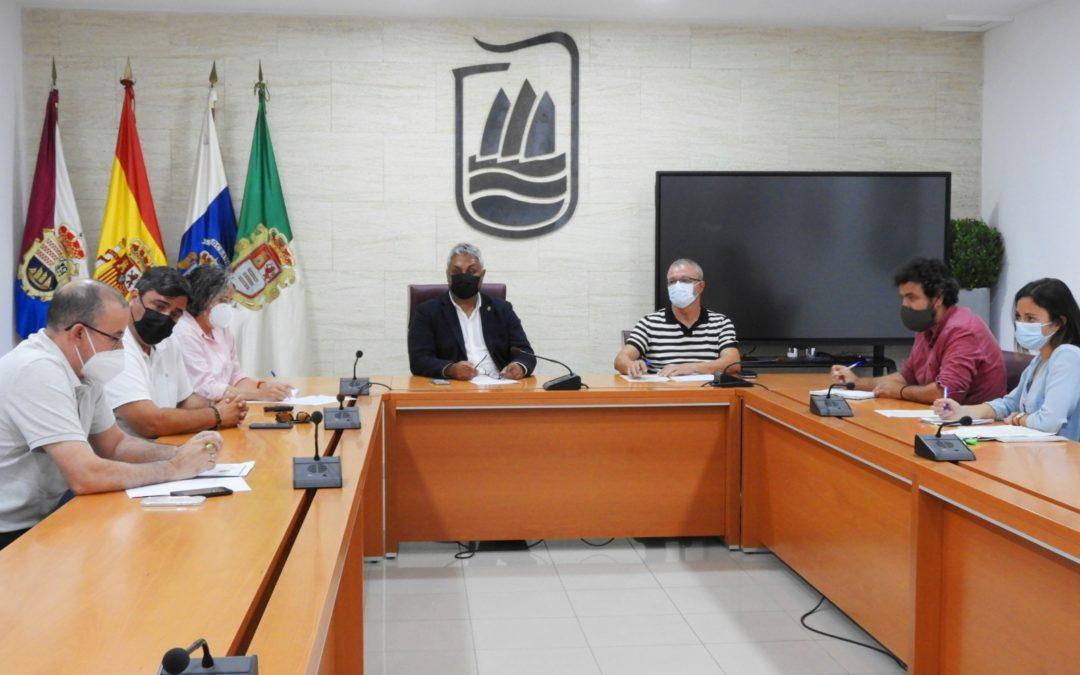 La capital recibe al nuevo jefe de la Demarcación de Costas en la Provincia de Las Palmas, Alberto Martín Coronel