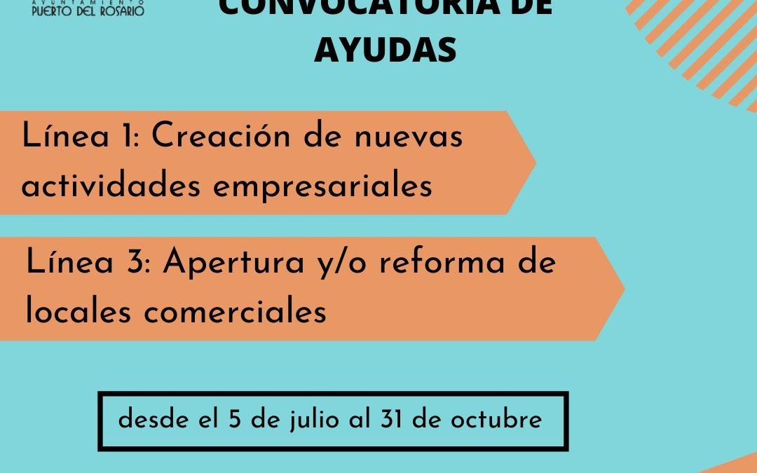 Puerto del Rosario convoca nuevas ayudas para la creación de empresas y apertura o reforma de locales comerciales en el municipio