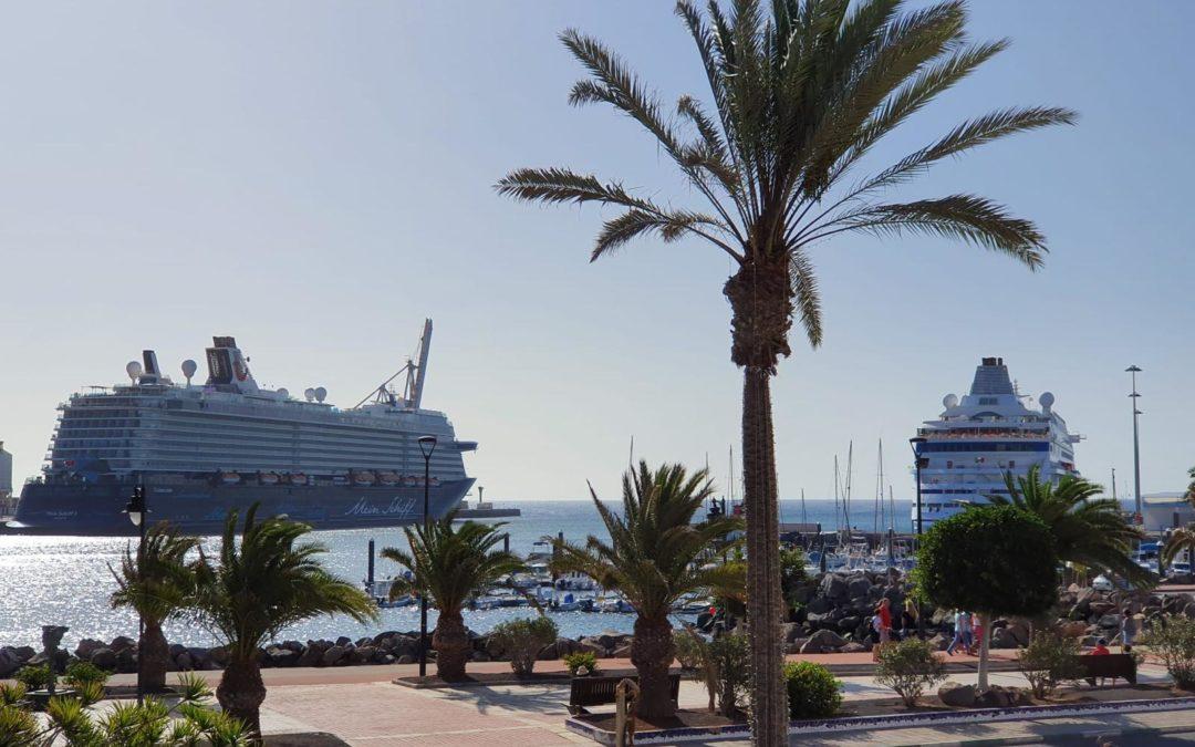 La temporada de cruceros que arriban en Puerto del Rosario se amplía hasta el mes de junio
