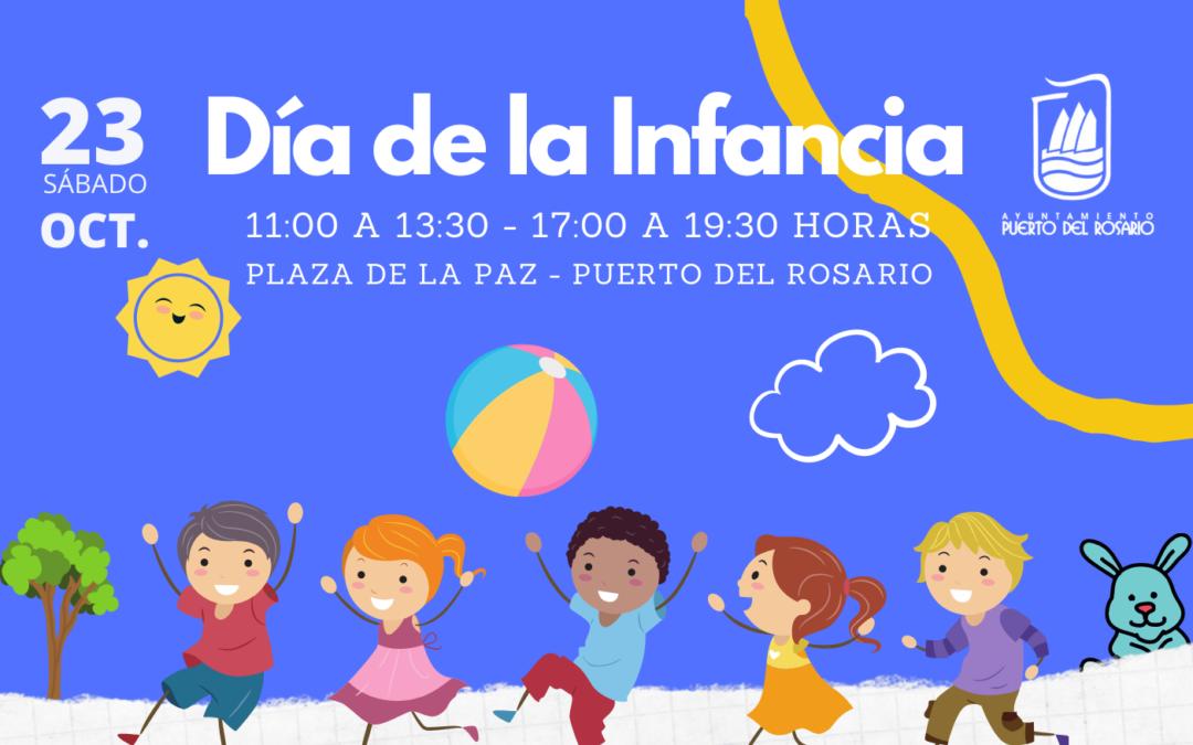 Puerto del Rosario organiza este sábado diversas actividades infantiles por el 'Día de la Infancia'