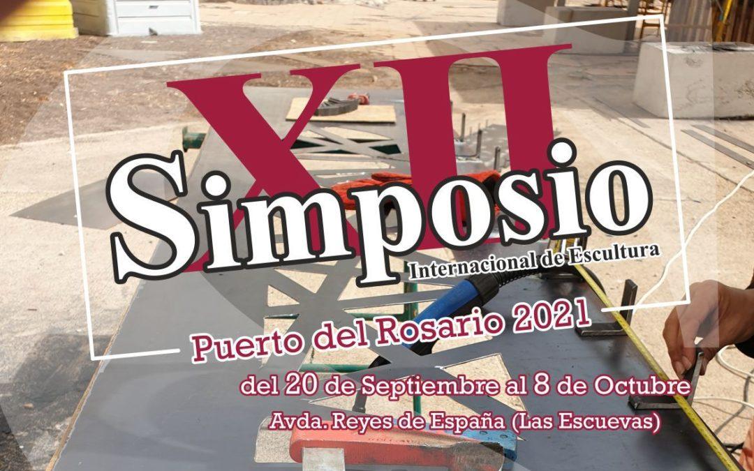Ocho artistas internacionales convertirán a la capital majorera en arte en vivo y en directo en el XII Simposio de Escultura