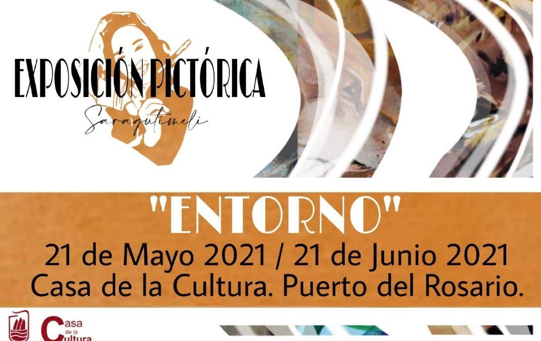 Exposición pictórica 'Entorno', de la joven artista Sara Gutiérrez Melián