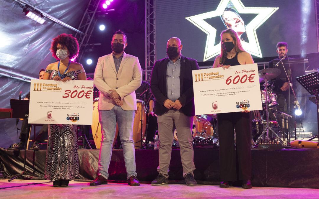 Carla Morales y Ébéne Ruiz se convierten en las ganadoras del III Festival de la Canción