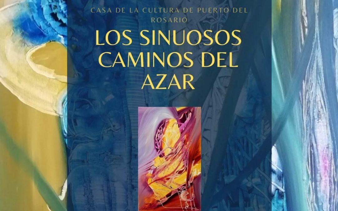 'Los sinuosos caminos del azar' sobre el lienzo de Carmen Taboada se exponen este miércoles