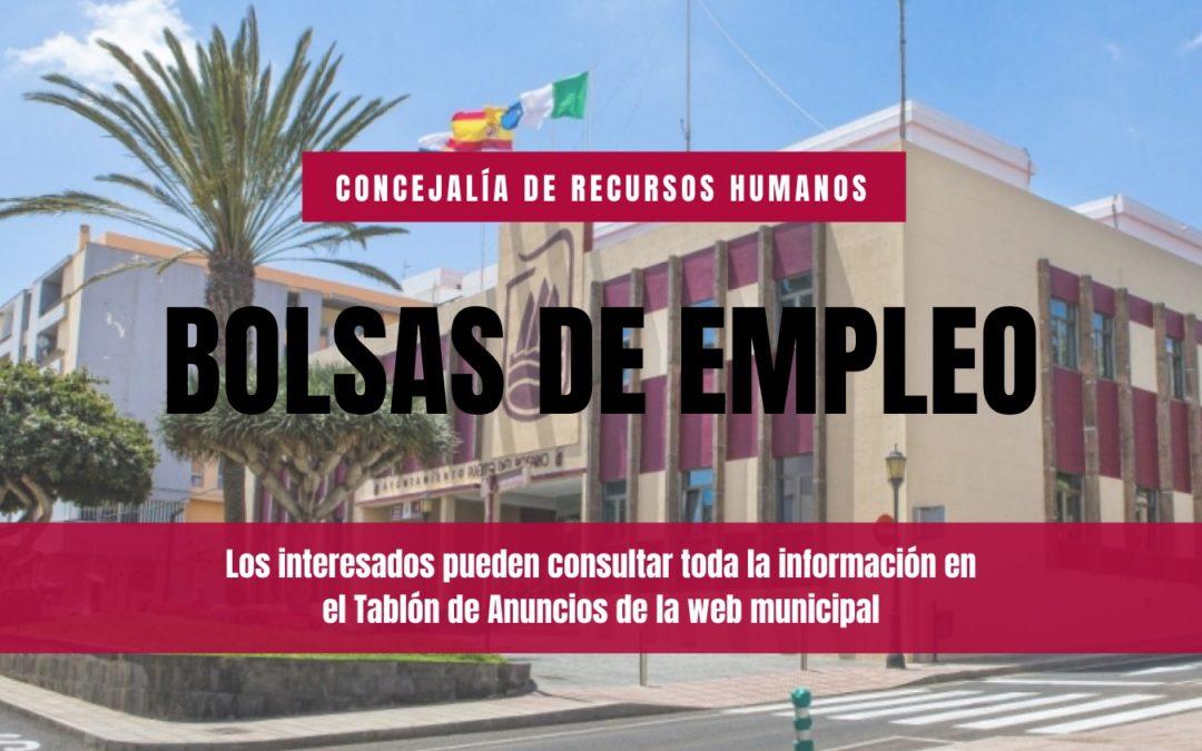 Puerto del Rosario recomienda consultar el Tablón de Anuncios de la web municipal para mantenerse al día de la información relativa al área de Personal