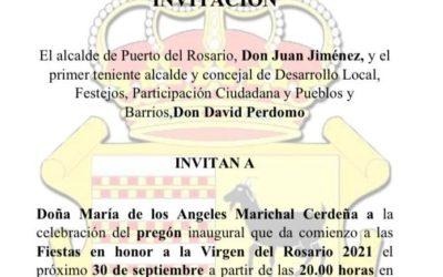 Festejos desmiente las informaciones vertidas por Mayra Marichal sobre la invitación al pregón de Puerto del Rosario