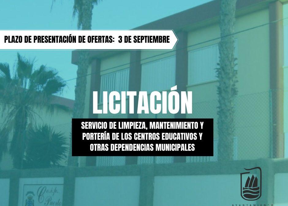 Puerto del Rosario licita el servicio de limpieza, mantenimiento y portería de los centros educativos y otras dependencias municipales