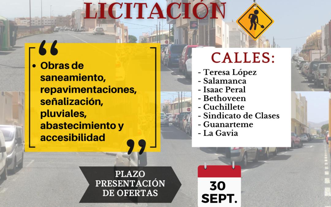 El Ayuntamiento anuncia una nueva inversión de 1,3 millones para obras de mejoras en más calles del municipio