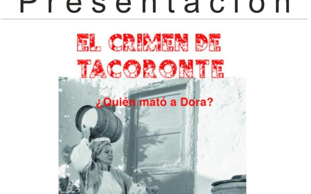El libro 'El crimen de Tacoronte ¿Quién mató a Dora?' será presentado este viernes por su autor y conocido folclorista Emilio Fernández