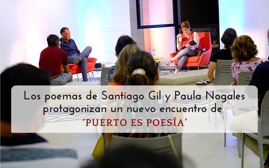 Los poemas de Santiago Gil y Paula Nogales protagonizan un nuevo encuentro de 'Puerto es poesía'
