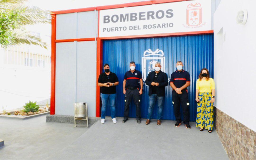 El Ayuntamiento realiza una reforma integral del parque de Bomberos de Puerto del Rosario