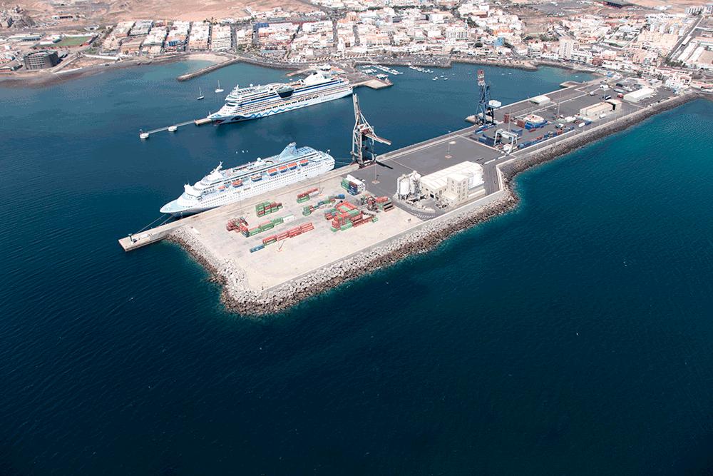 La Autoridad Portuaria autoriza la ocupación de suelo al Ayuntamiento para la construcción de dos estaciones de bombeo, un emisario submarino y un aliviadero