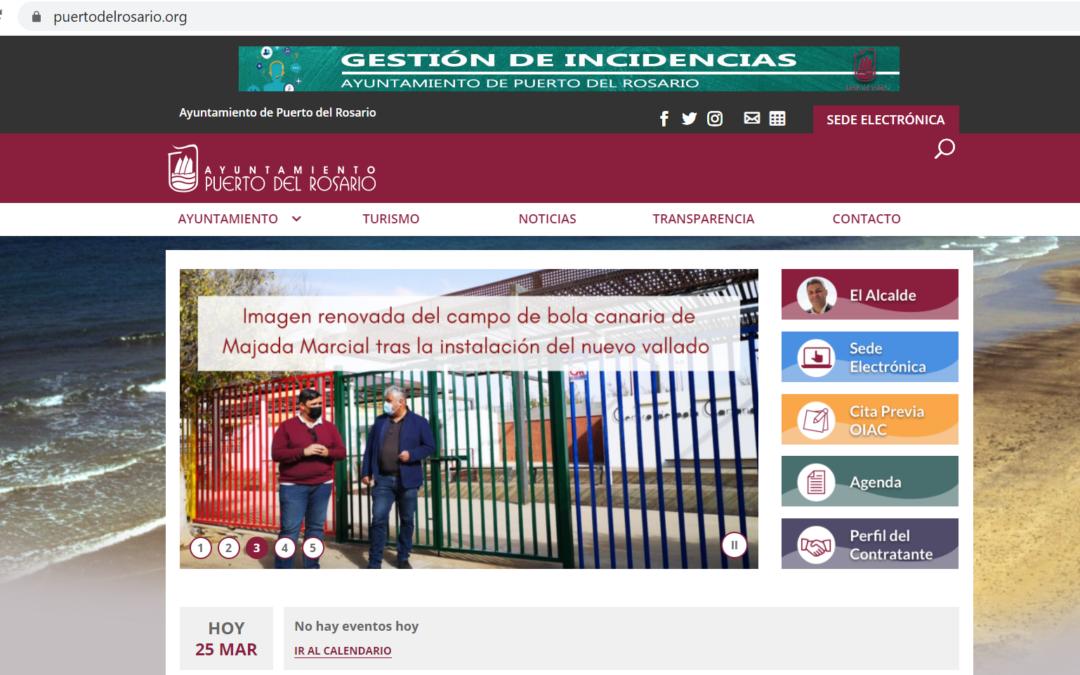 El Ayuntamiento capitalino lanza una nueva página web municipal mucho más moderna, rápida y eficaz