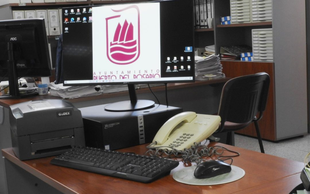 Puerto del Rosario renueva el equipamiento informático municipal