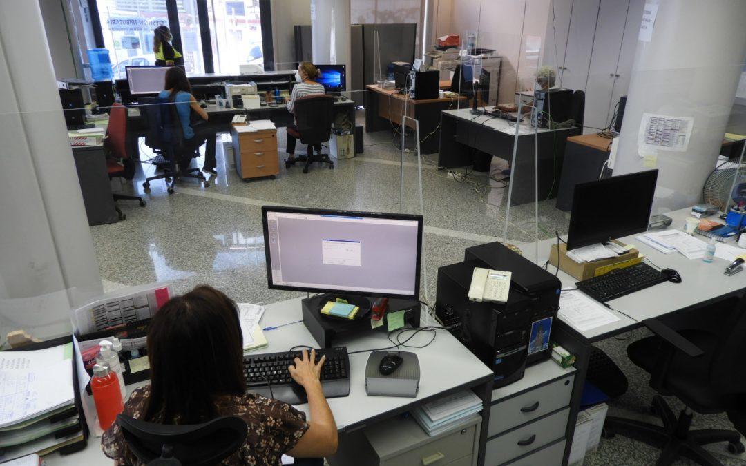 Aplazadas las pruebas selectivas para cubrir cinco vacantes de Auxiliar Administrativo