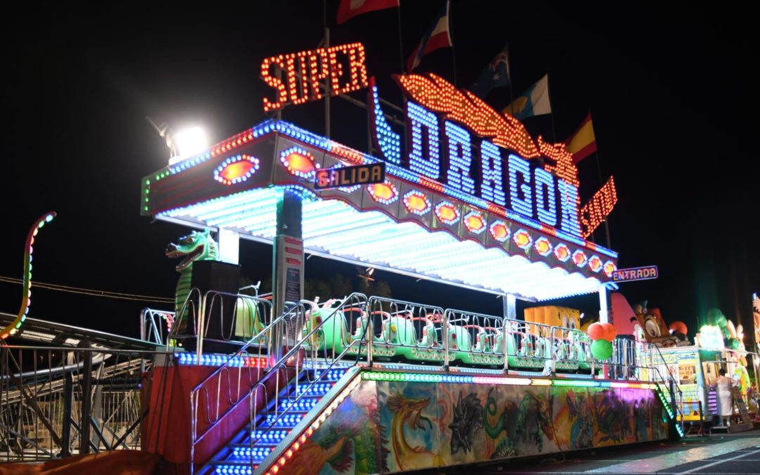 El Recinto Ferial acoge un parque de atracciones lleno de novedades para disfrutar en estas fiestas