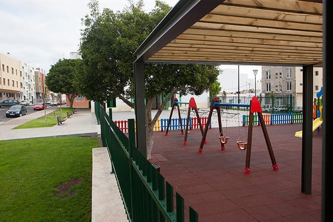 Puerto del Rosario invierte 3,7 millones en renovar íntegramente y convertir en inclusivos los parques infantiles de los distintos pueblos y los barrios del municipio