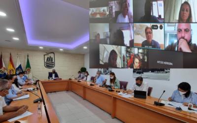 Puerto del Rosario aprueba una resolución para la permanencia del Regimiento Soria 9 en el municipio