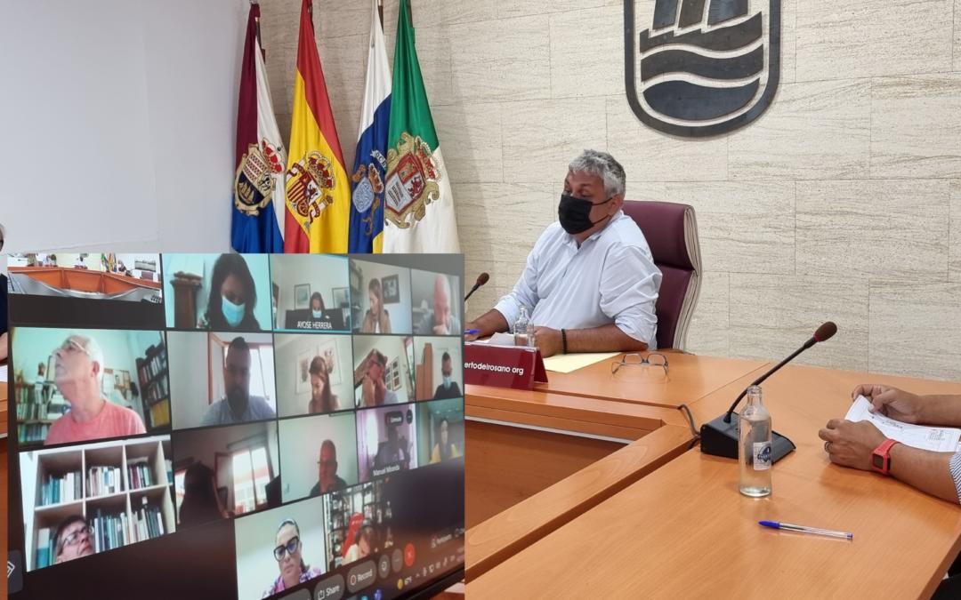 El pleno de Puerto del Rosario declara el apoyo institucional del Ayuntamiento a la isla de La Palma