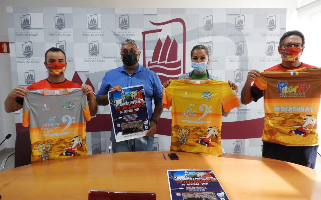 El frente litoral de la capital majorera será protagonista este domingo de la VI Carrera Popular y solidaria 'C.D. Trotadunas'