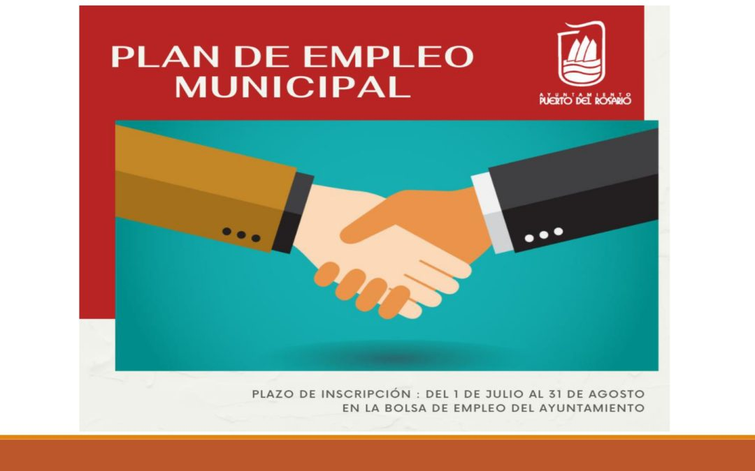 El Ayuntamiento capitalino anuncia la creación del Plan de Empleo Municipal que contratará a 53 personas en situación de desempleo