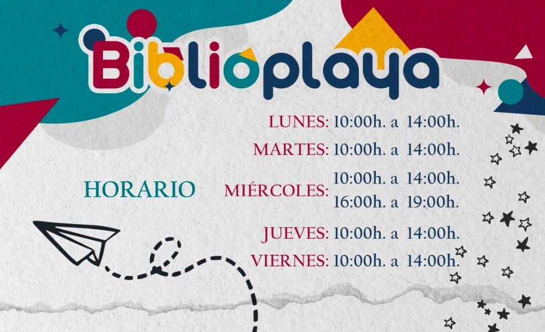 La Biblioplaya de Puerto del Rosario abre sus puertas en plena playa para soñar e imaginar a través de la lectura durante este verano
