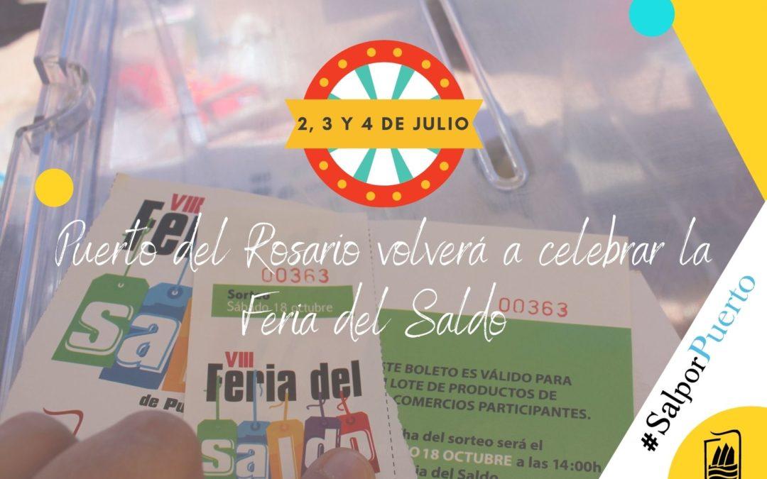 Puerto del Rosario volverá a celebrar la Feria del Saldo los días 2, 3 y 4 de julio