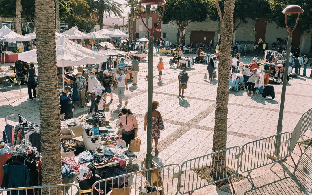 Puerto del Rosario vuelve a tener una cita cada domingo con el rastro municipal