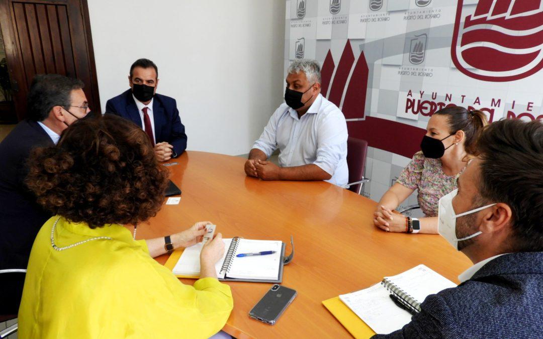 La capital recibe a la nueva Junta de Gobierno del Colegio de Graduados Sociales de Gran Canaria y Fuerteventura