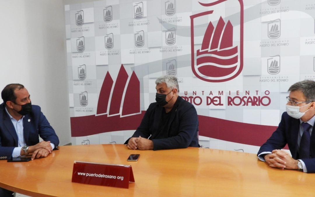Puerto del Rosario y el Gobierno de Canarias impulsan la cooperación en inversiones estratégicas para el desarrollo económico del municipio