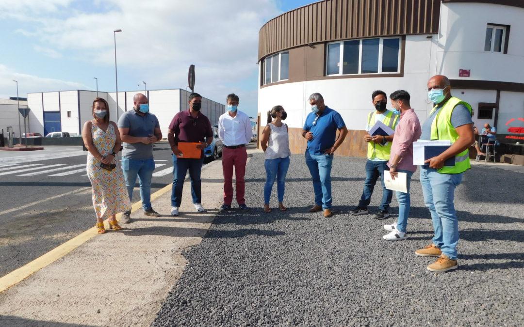 Dan comienzo las obras de la red de abastecimiento de agua en el Polígono Industrial de La Hondura