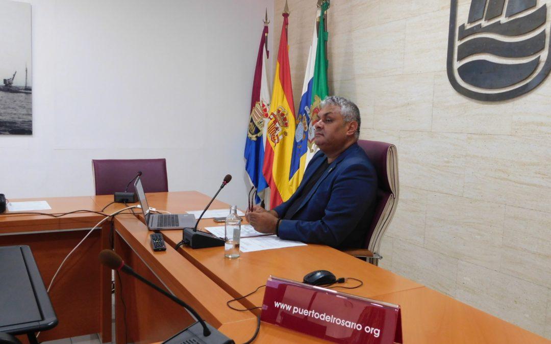 Juan Jiménez anima al trabajo conjunto de los agentes políticos, económicos y sociales para acelerar la recuperación de Canarias