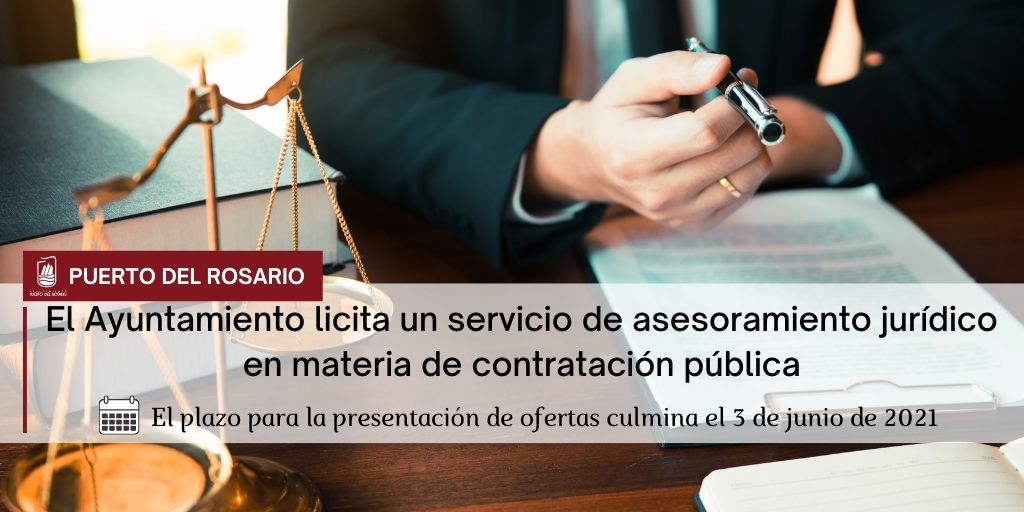 Puerto del Rosario licita un servicio de asesoramiento jurídico en materia de contratación pública