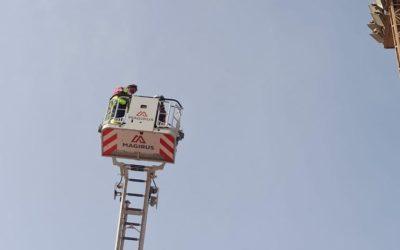 Este martes se inician los trabajos para la sustitución de las luminarias del Estadio municipal de Risco Prieto